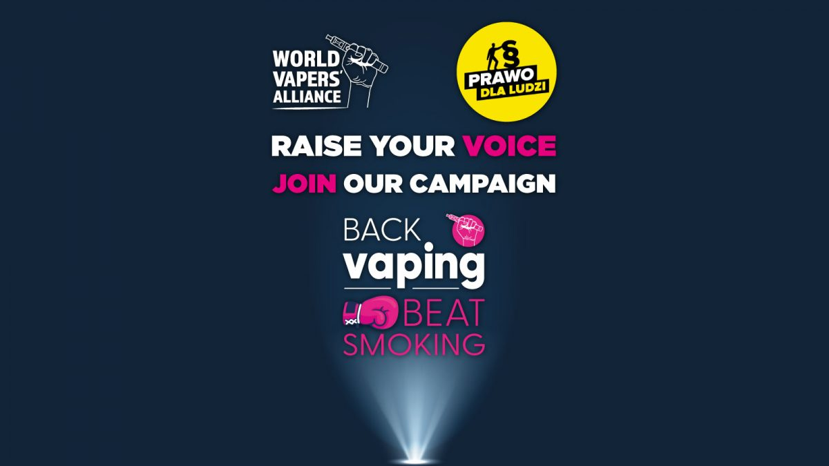 Prawo dla Ludzi przyłącza się do globalnego ruchu na rzecz wspierania waperów i walki z paleniem